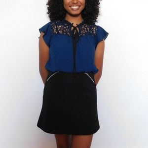 Dresses & Skirts - Ribbed a-line skirt